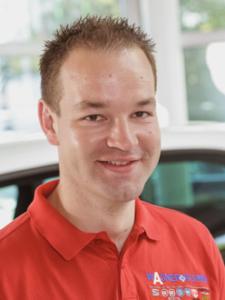 Samuel Wagner, Vorsitzender des Fördervereins der Ev. Jugend Meißen-Großenhain